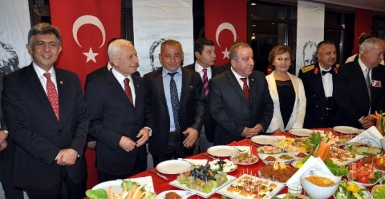 Zonguldak'ta Cumhuriyet Bayramı Resepsiyonu