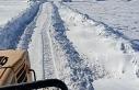 Kuzey İlçelerinde Kar Mücadelesi