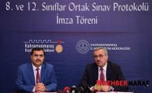"""8. VE 12.SINIF ÖĞRENCİLERİMİZE YÖNELİK """"ORTAK SINAV PROTOKOLÜ"""" İMZALANDI"""