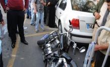 Yaralı Sürücü Gazeteciye Saldırdı