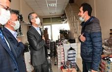 Başkan Güngör Ayakkabıcılar Sitesi'nde