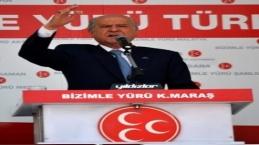 DEVLET BAHÇELİ K.MARAŞTA