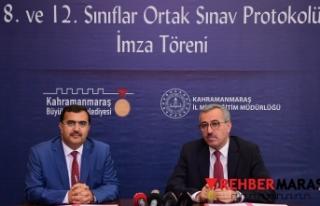 """8. VE 12.SINIF ÖĞRENCİLERİMİZE YÖNELİK """"ORTAK..."""