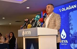 DEVA PARTİSİ KAHRAMANMARAŞ İL BAŞKANI UZM.DR....