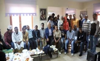 Başkan Yıldırım, Yabancı Öğrencilerle Bayramlaştı