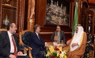 Cumhurbaşkanı Gül, Suudi Kralı Abdullah'la Görüştü