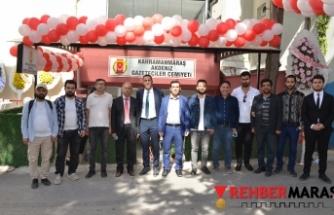 Kahramanmaraş Akdeniz Gazeteciler Cemiyetinin yeni bürosu hizmete açıldı!