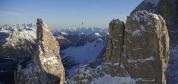 Amerikalı bir kadın sporcu Dolomitler'de nefes kesici bir maceraya atıldı. İzleyin!